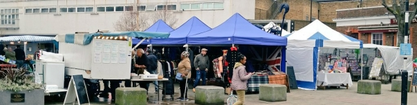 The Blue Market in Bermondsey